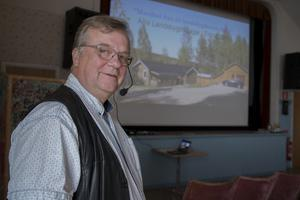 Olle Persson, före detta landsbygdsstrateg i Hudiksvall, var en av föreläsarna.