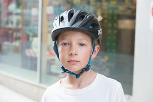 Oskar Skölund, 9 år