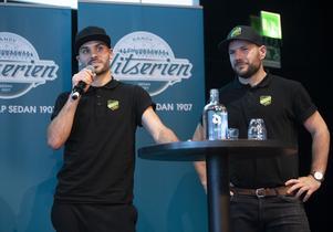 Mattias Johansson och Fredrik Brandin. Bild: Fredrik Sandberg (TT)