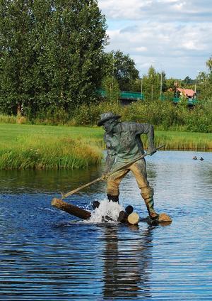 Flottaren, som skapades av Per Nilsson-Öst år 1970, fyller 50 år i år. Foto: Bollnäs kommun