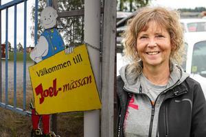 Mäss-genereal Susanne Söderman var mycket nöjd med årets Joelmässa. – Det är en sån glad stämning, ingen är ute efter att starta ett bråk.