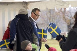 Kenneth Fagerström är idag föreståndare för Hasselakollektivet och han tycker att det är bra att få visa upp den verksamhet som kollektivet bedriver.