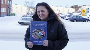 Gunilla Dahlin är glad över det lyckade bokprojektet.