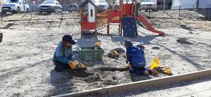 Vårens bästa aktiviteter är att gräva.