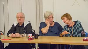 Vänsterpartiets valvaka i Fagersta blev ingen munter tillställning.