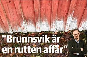 Jens Runnberg har granskat jätteaffären. En tillfällig majoritet beslutade att skattebetalarna skulle köpa den tomma folkhögskolan.
