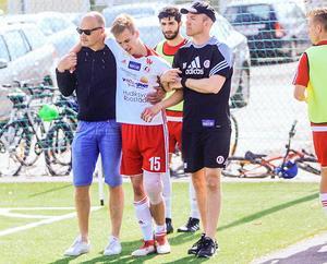 I maj förra året drabbades Vilmer Svensson av en allvarlig knäskada och missade stora delar av säsongen.