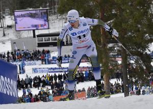 Oskar Svensson i Faluns sprint i vintras. I år är tanken att det ska bli både sprint och distans.