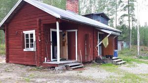 Jaktstugan i Sandhamn, Fågelsjö innan den brann ned.