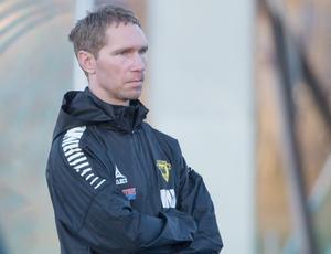 Mikael Wiker, tränare i Arboga Södra.