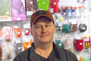 Jim Johansen har drivit fiske- och fritidsbutiken Real Fishing i Sandviken i cirka tio år.