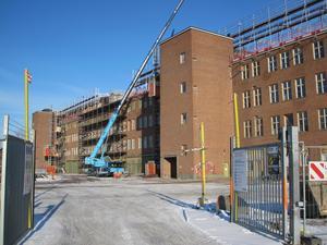 Mimers och Mälarenergis jättekontor ska stå klart i början av 2019.