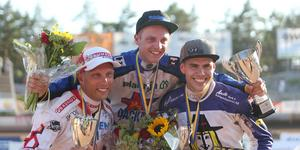 Jacob Thorssell vann tävlingen före Andreas Jonsson och Kim Nilsson.