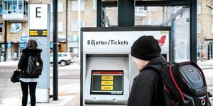 Biljettintäkterna motsvarar runt en femtedel av kostnaden för allmän kollektivtrafik i Dalarna (Källa: Region Dalarna).