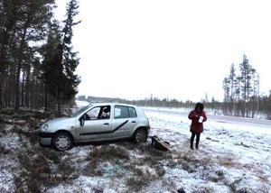 Jimmy Nordin och Lumia Nordin funderade på att ta tåget hem till Gävle efter den våldsamma kraschen utanför Särna på torsdagsförmidagen.