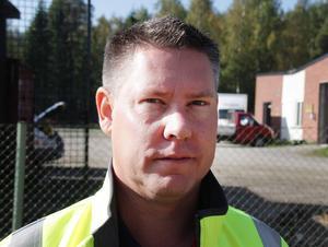 Kristofer Engstrand, projektledare underhåll på Trafikverket region mitt.