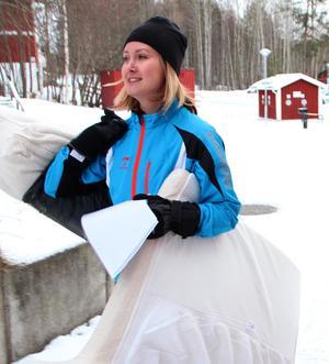 Malin Jansson hittade till Kompis Falun genom en vän.