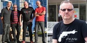 Dead Pollys består av fyra medlemmar och spelar bara egna låtar inom klassisk punkrock. Foto: Pernilla Larding, Ellinor Molin