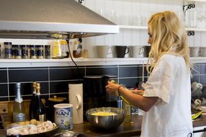Som dietist känner sig Caroline Wilbois som hemma i andras kök.