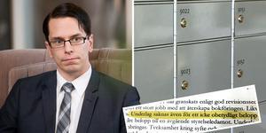 Revisionsberättelsen för Sverigedemokraterna Sundsvall väcker frågor. Bilder: Jennie Johansson, Katarina Vikström