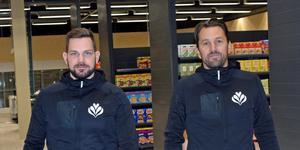Niclas Stålhandske och Niklas Kvarnström står bakom satsningen. Butiken öppnar senare i höst.