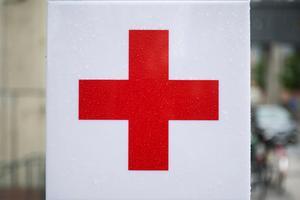 Ett rött kors stoppar inte tjuvar.
