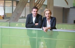 Socialdemokraternas kommunalråd Elof Hansjons och Boel Godner. Foto: Monika Nilsson Lysell