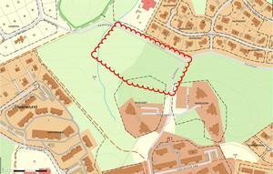 På en tomt i Lina, intill Porslinsvägen och Kaxbergsvägen,  planeras kommunens nya vård- och omsorgsboende. Ett så kallat mellanboende planeras också på tomten.