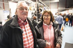 Tony Anderson och Ingrid Derenkow hoppades få något restips under sitt besök.