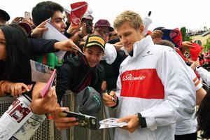 Marcus Ericsson. Foto: Sauber Motorsport
