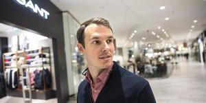 Erik Barklunds Gant-butik i Punkt är större än han hade i Gallerian.