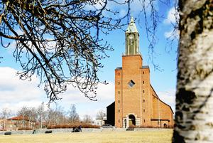 Nya kyrkan bytte namn till Stora kyrkan i samband med 50-årsjubiléet. Foto: Henrik Flygare