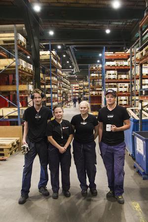 Acab har anställt fyra nyutbildade svetsare och en CNC-operatör direkt från industriprogrammet på Torsbergsgymnasiet i Bollnäs och Voxnadalens gymnasium i Edsbyn.