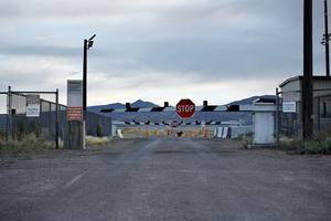 Militärbasen Area 51 i USA är hårt bevakad. Foto: AP Photo/John Locher