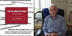 98-årige Karl-Gustaf Skoog bor nu i Valbo.