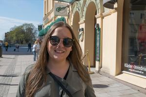 Moa Nordmark, 24, studerande, Östersund: