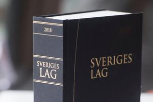 Sveriges lagbok 2018. Arkivbild.