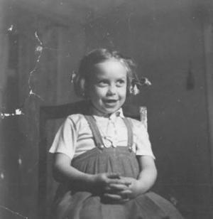 Ett kort från 1956, taget av Margarethas bror Rolf. Foto: Privat
