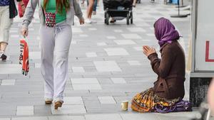 Amnesty vill ge tiggare fler rättigheter i stället för förbud. Foto: Arkivbild