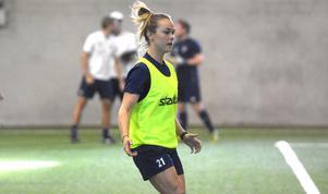Målsättningen för Hanna Kallmaier är att bli en ledande spelare i Kvarnsveden.