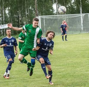 Mattias Olssons Malung och Oscar Anderssons Tällberg delade på poängen i tisdagens match.