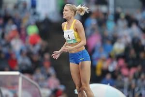 Erika Kinsey är en av de stora stjärnorna i det svenska laget till norska Bärum. Foto: TT/Christine Olsson