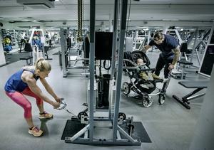 Träning som livsstil, gymmet är ett andra hem för Kicki Nilsson, träningskompisarna en annan familj än ett barn i en barnvagn.