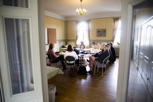 På fredagen träffades ett gäng affärsinriktade kvinnor på Hotell Temperance för att lära sig mer om affärsänglar.