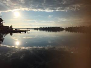 Solnedgång på Gräddö. Foto: Ulrika Tegelmo