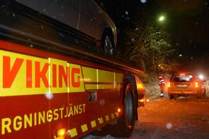 Uppdraget i Älandsbro är avklarat och Kim Bertilsen vänder åter mot Sundsvall.