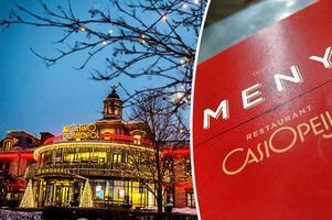 Casino cosmopol har nu bestämt sig för att stänga sin välrenommerade restaurang Casiopeija.