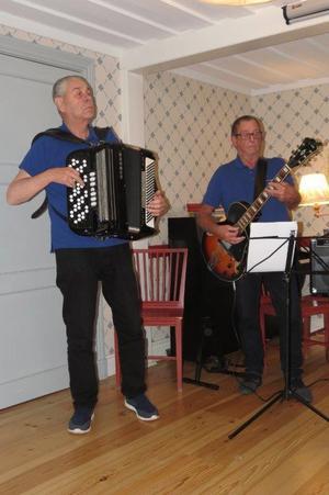 Inge Tyllman och Bosse Larsson. Foto: Max Möllerfält