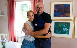 Fredrik och Elin Hallstensson träffades för sex år sedan i samband med Sundsvallsklassikern.