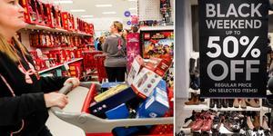 Precis som väntat blev det ny rekordnivå för svenskarnas shopping under årets Black friday.